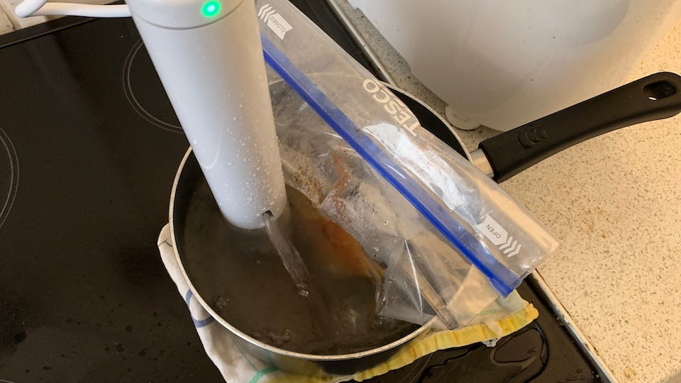 Cooking with a ChefSteps Joule Sous Vide