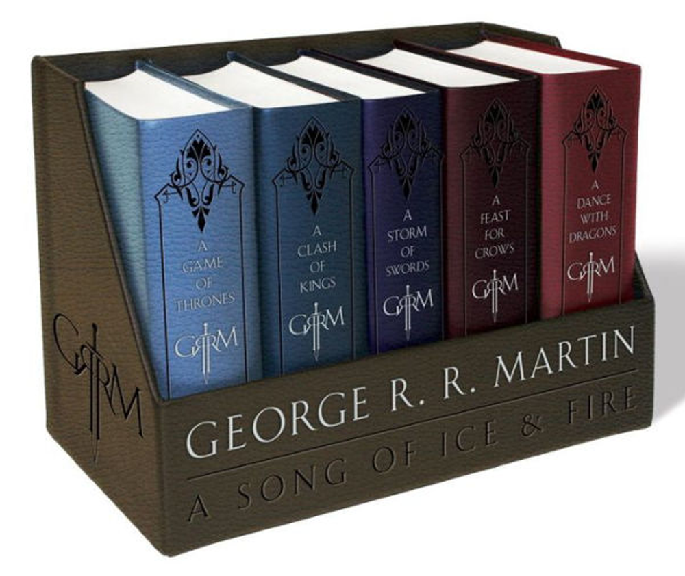 The first five books in the series are available in various packages.
