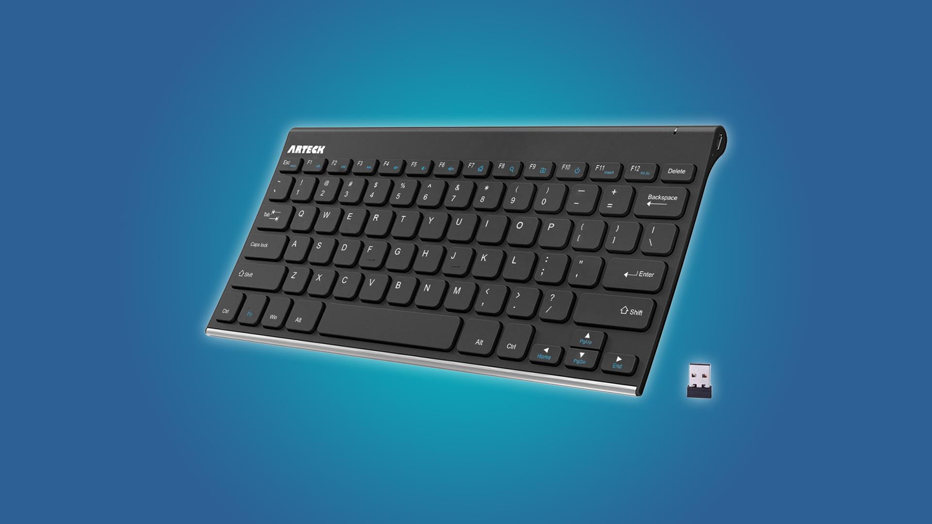 Arteck 2.4G Wireless Keyboard