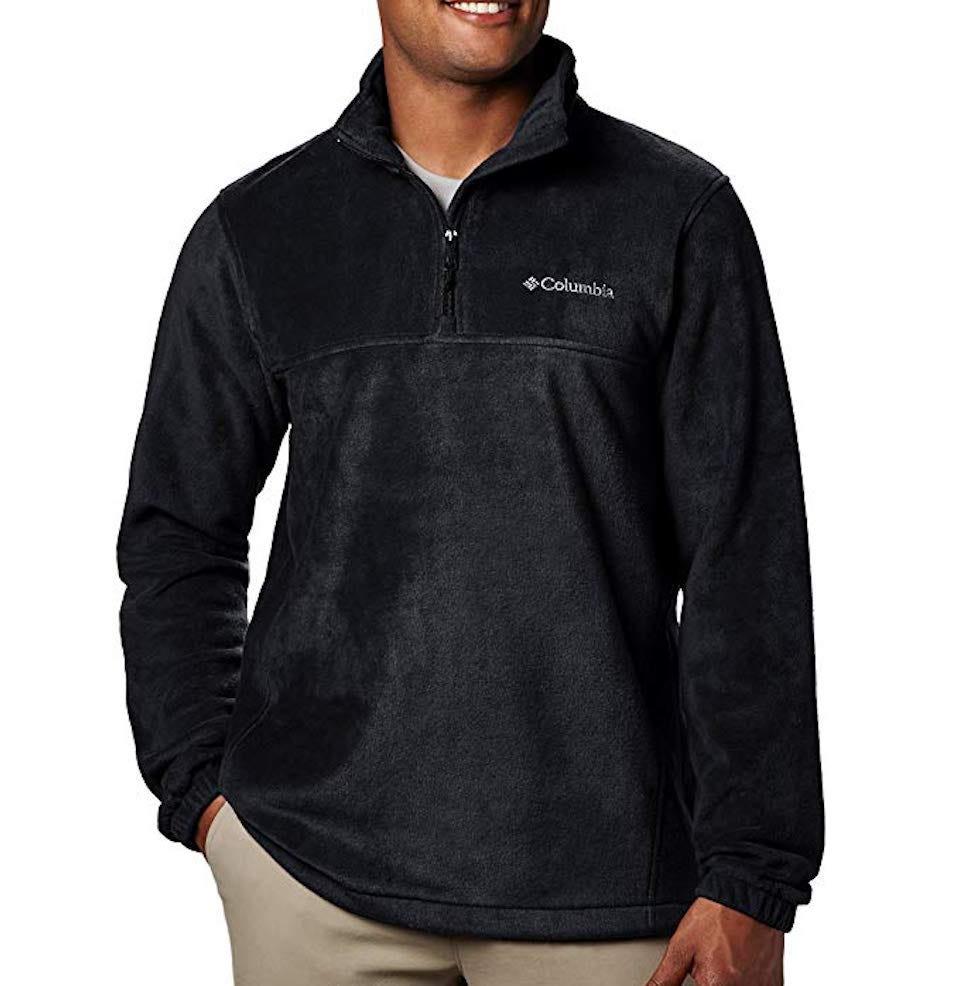 Columbia Men's Steens Mountain Half Zip Soft Fleece Jacket