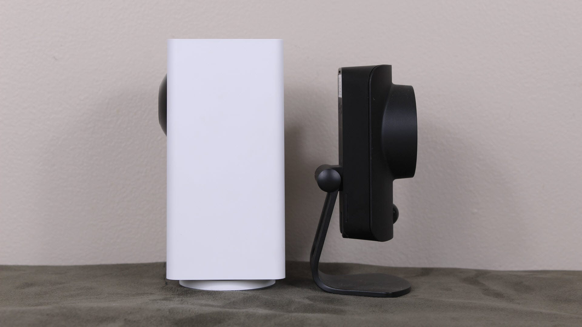 Wyze Cam Pan side by side with SimpliSafe Cam