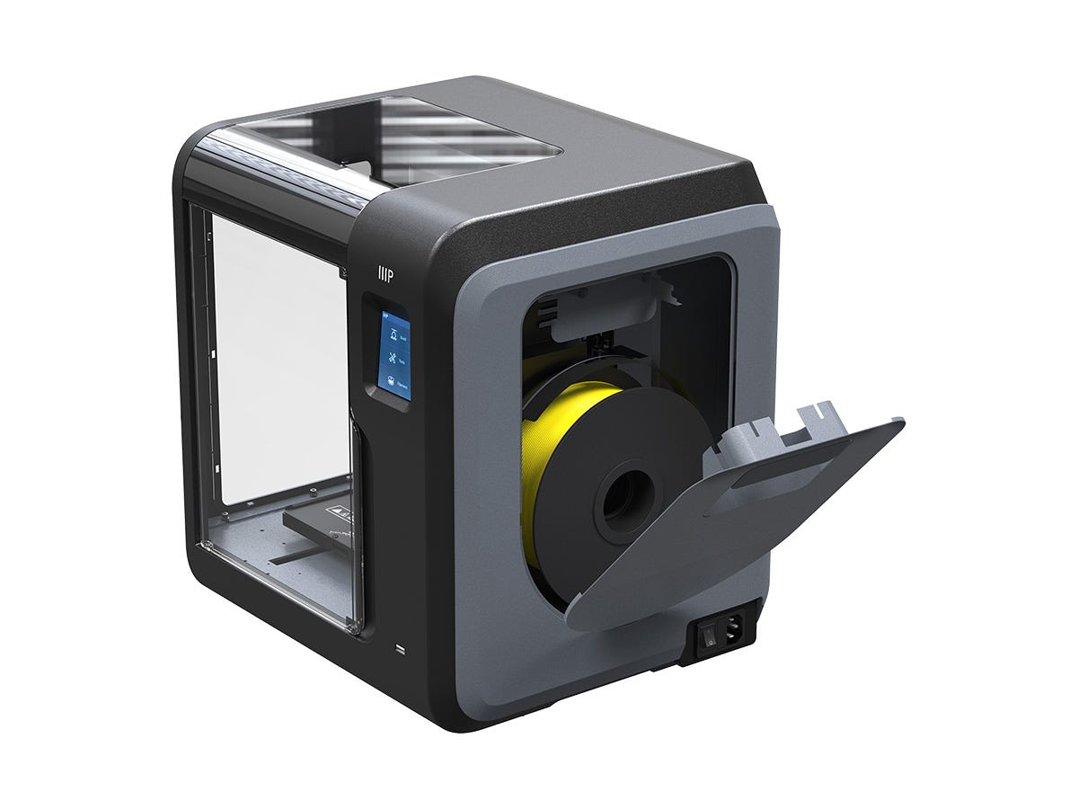 Spool holder on the Voxel