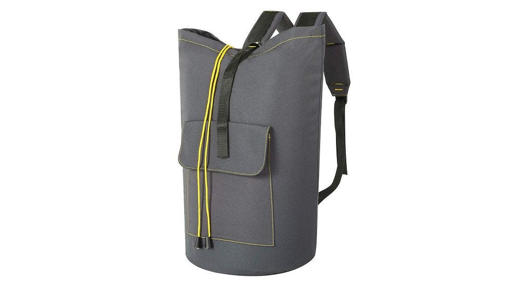 WOWLIVE Large Laundry Backpack