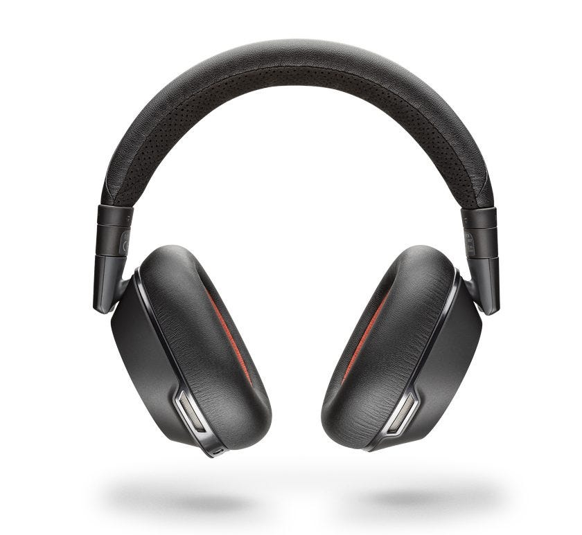 Plantronics Voyager 8200 UC noise canceling headphones