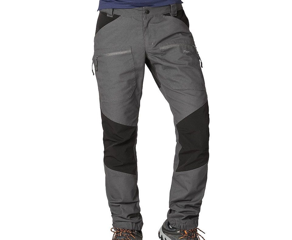 ZOOMHILL Mens Pro Hiking Stretch Pants Cargo Trousers