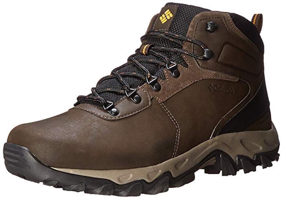 Columbia Mens Newton Ridge Plus II Waterproof Hiking Boots