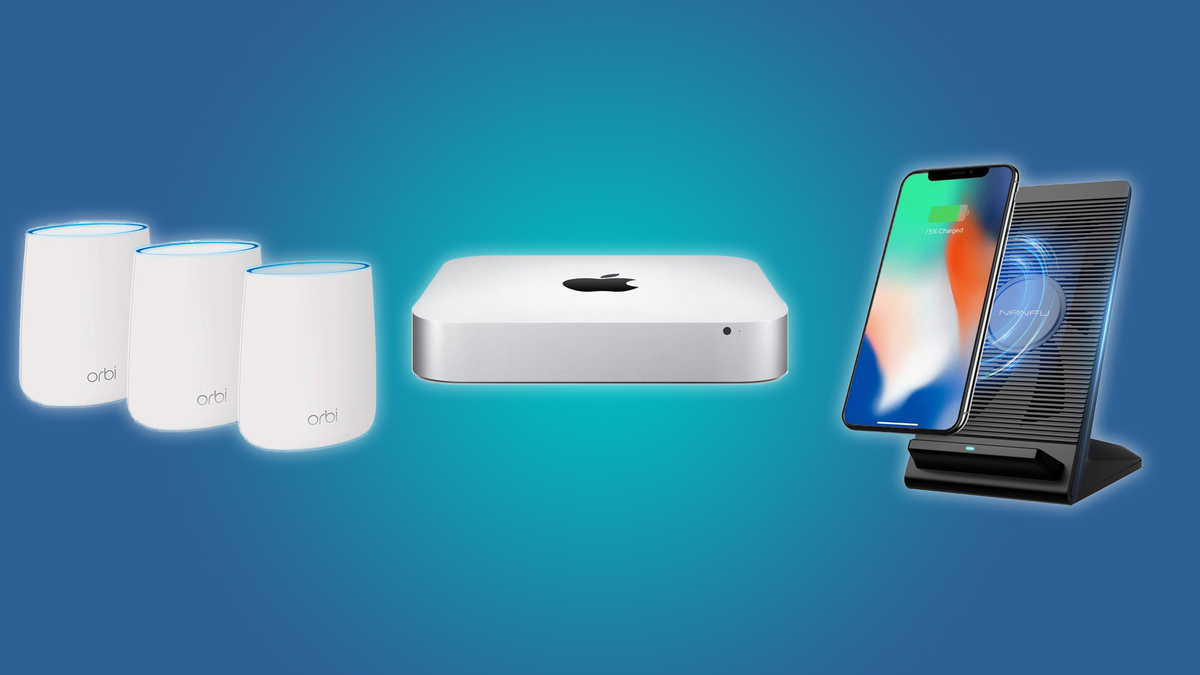 The NETGEAR Mesh Wi-Fi System, Mac Mini, and the Air Cooled Wireless QI Charger