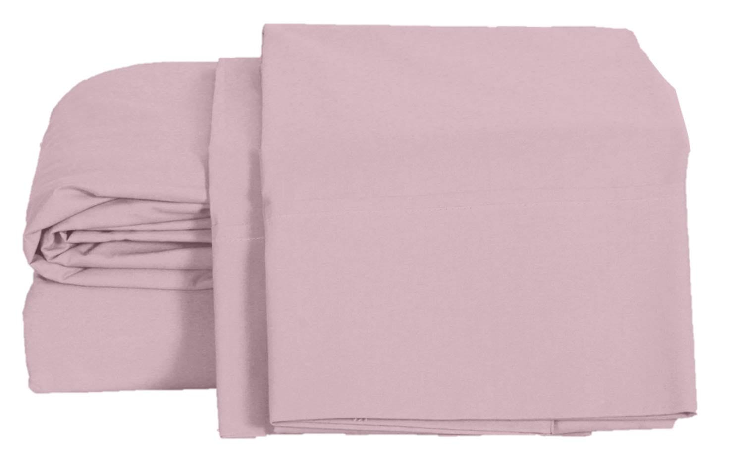 Percale sheets with a low thread count are much more breathable than some expensive alternatives.