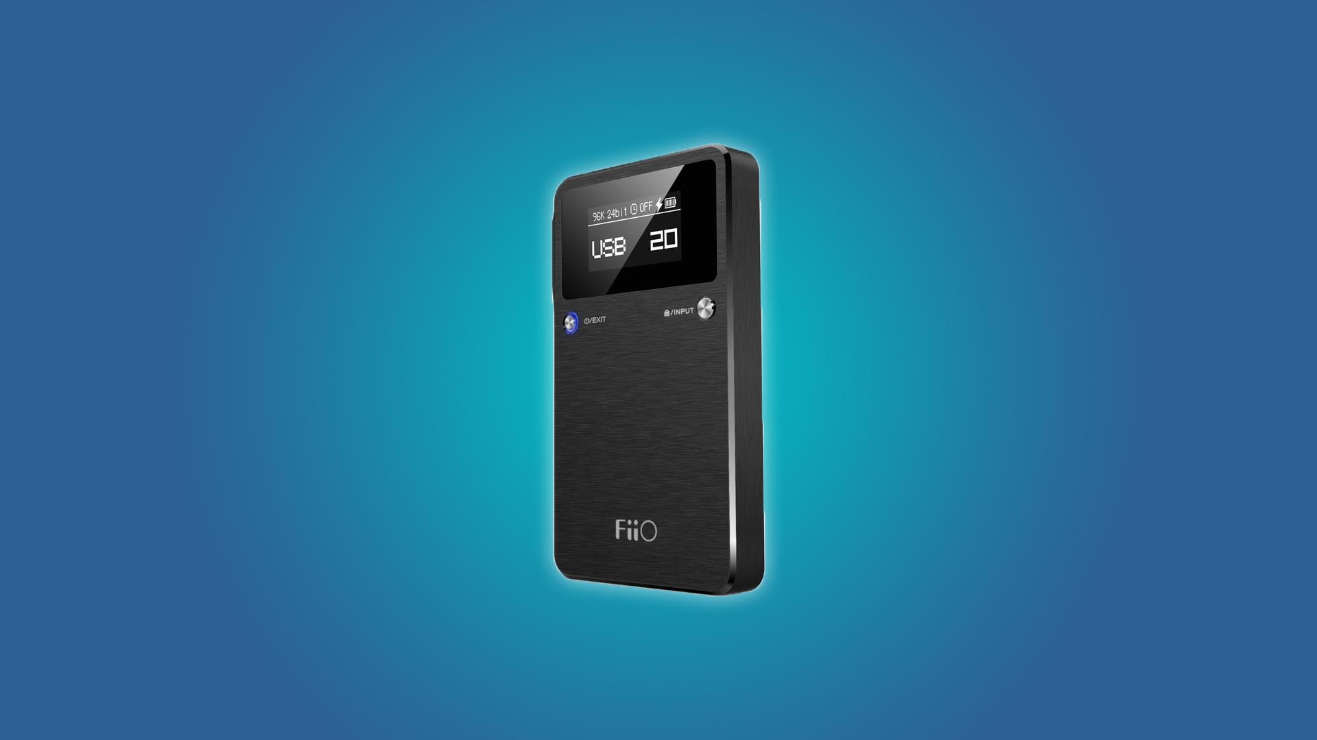 The FiiO E17K ALPEN 2 Micro-USB DAC