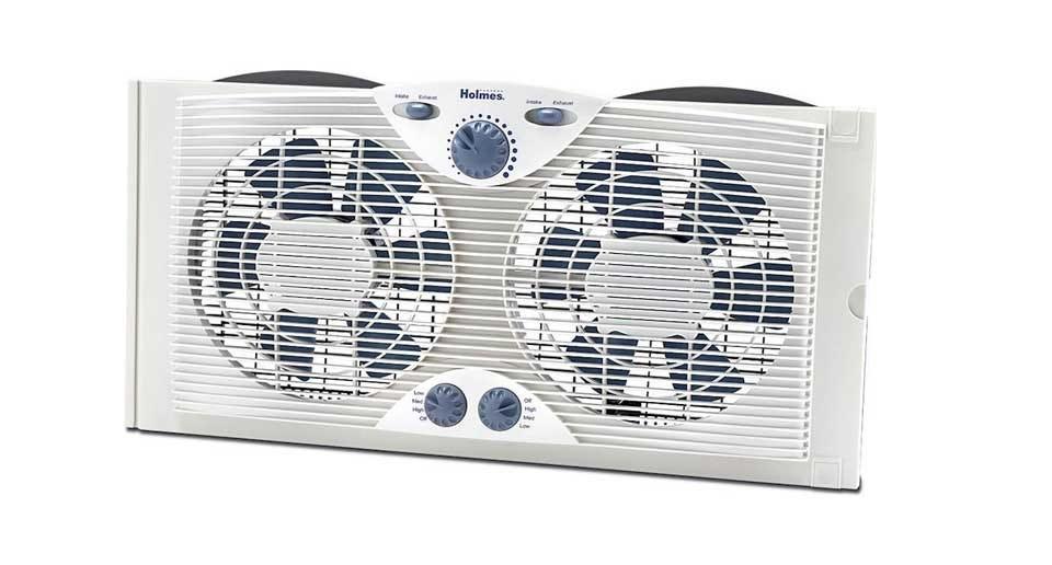Holmes dual-blade window fan