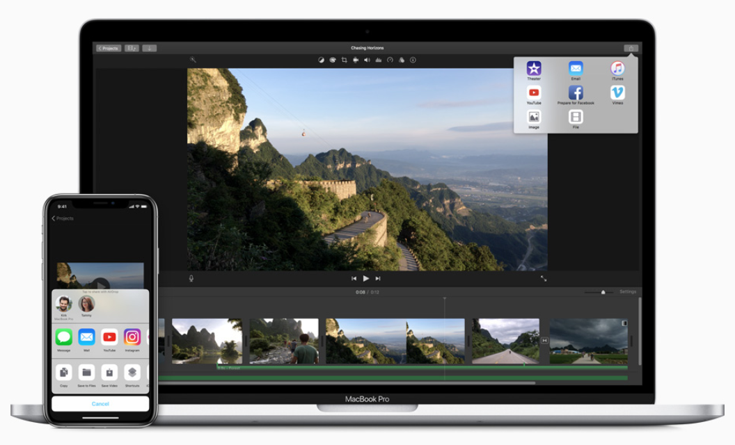 iMovie is one of the best video editors available for novices, and it comes free on Mac hardware.