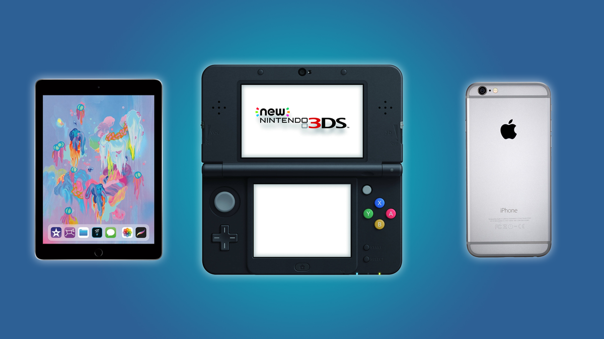 The iPad, the New Nintendo Switch, and the iPhone 6