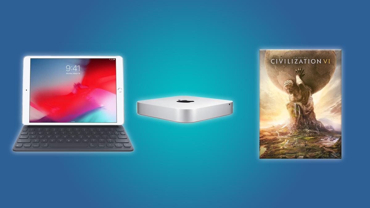 The Mac Mini, the Apple iPad Keyboard, and Civilization VI