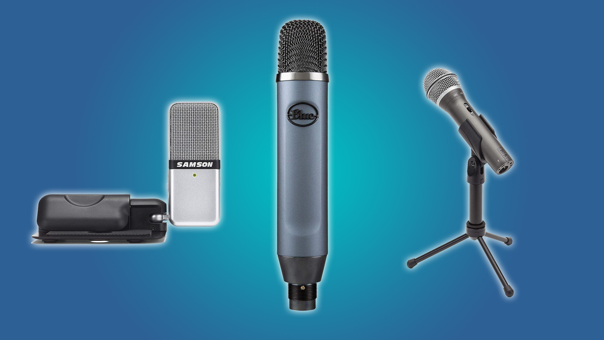 These microphones are the best on the market for podcasters.