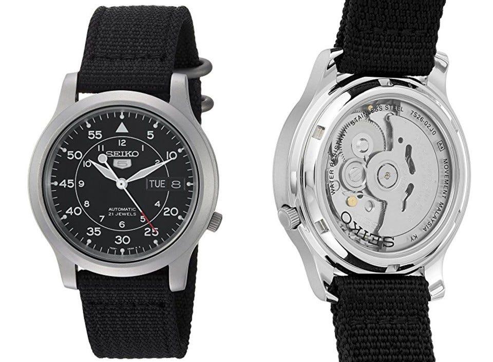 Seiko SNK809 automatic watch