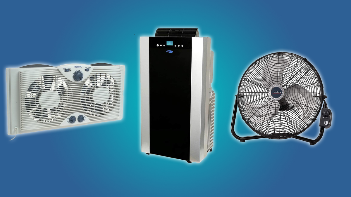 This collection of gadgets will keep your place cool all summer long.