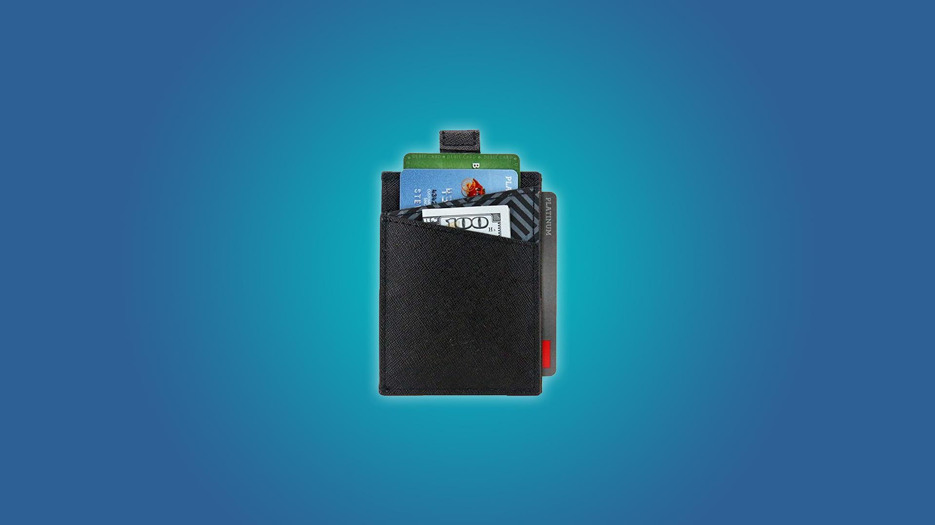 The Dash Vertical RFID Blocking Slim Wallet 5.0