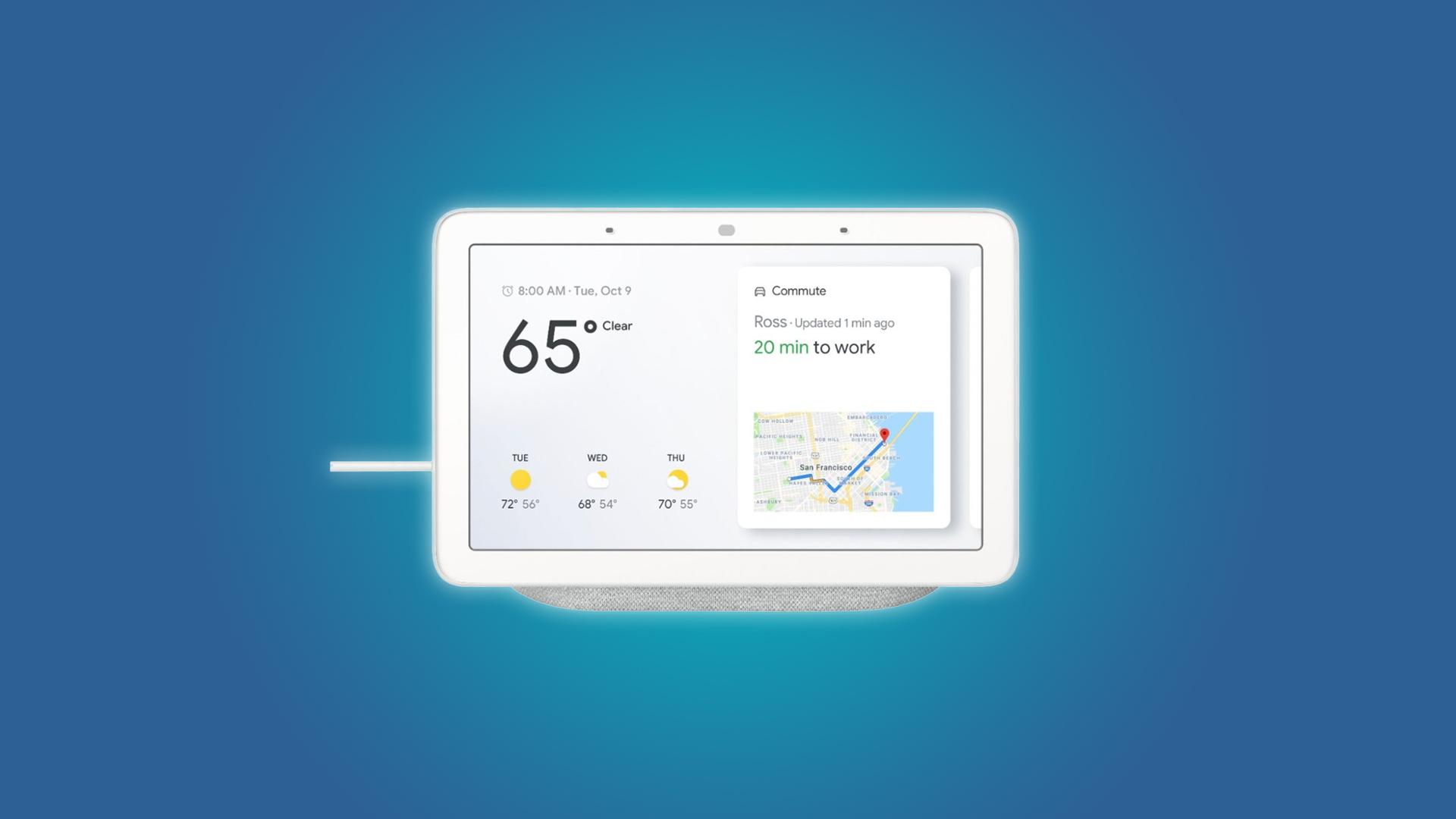 The Google Nest Hub Smart Display