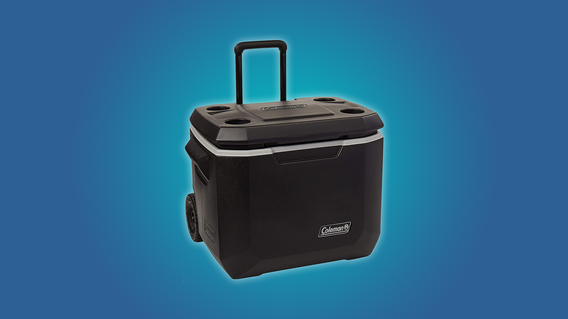 The Coleman Xtreme Wheeled 50qt Cooler