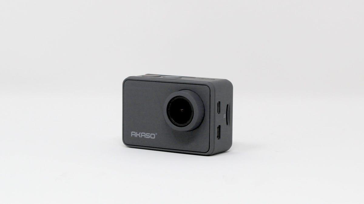 The Akaso V50 Pro action camera.