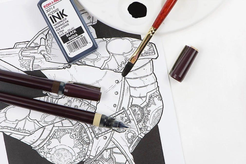 Koh-I-Noor Rapidosketch pen