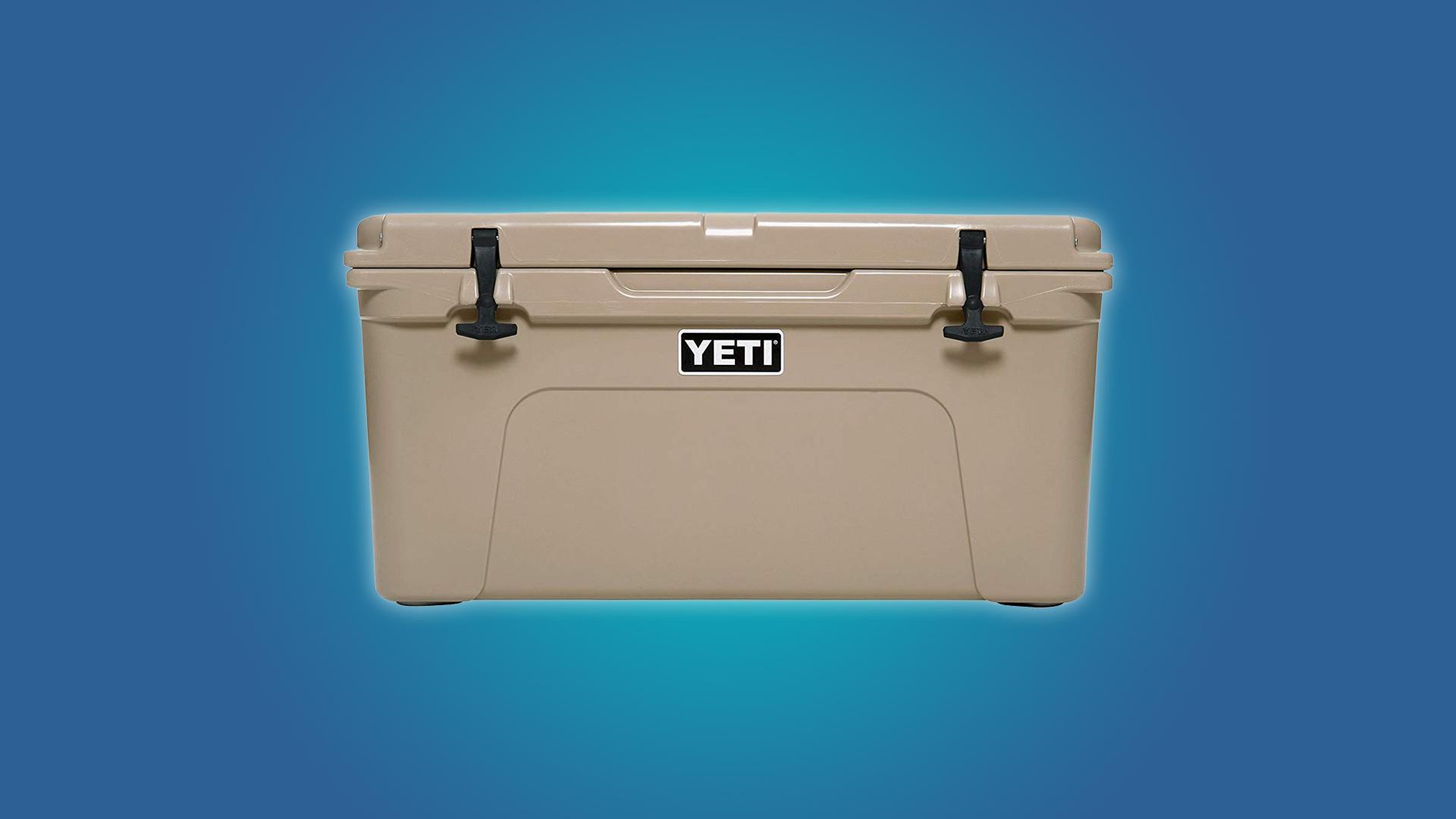 The YETI Tundra 65 57qt Cooler