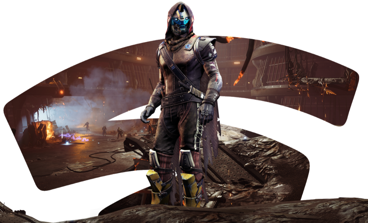 Destiny 2, a two-year-old game recently downgraded to free-to-play, is Stadia's big launch title. Not great.