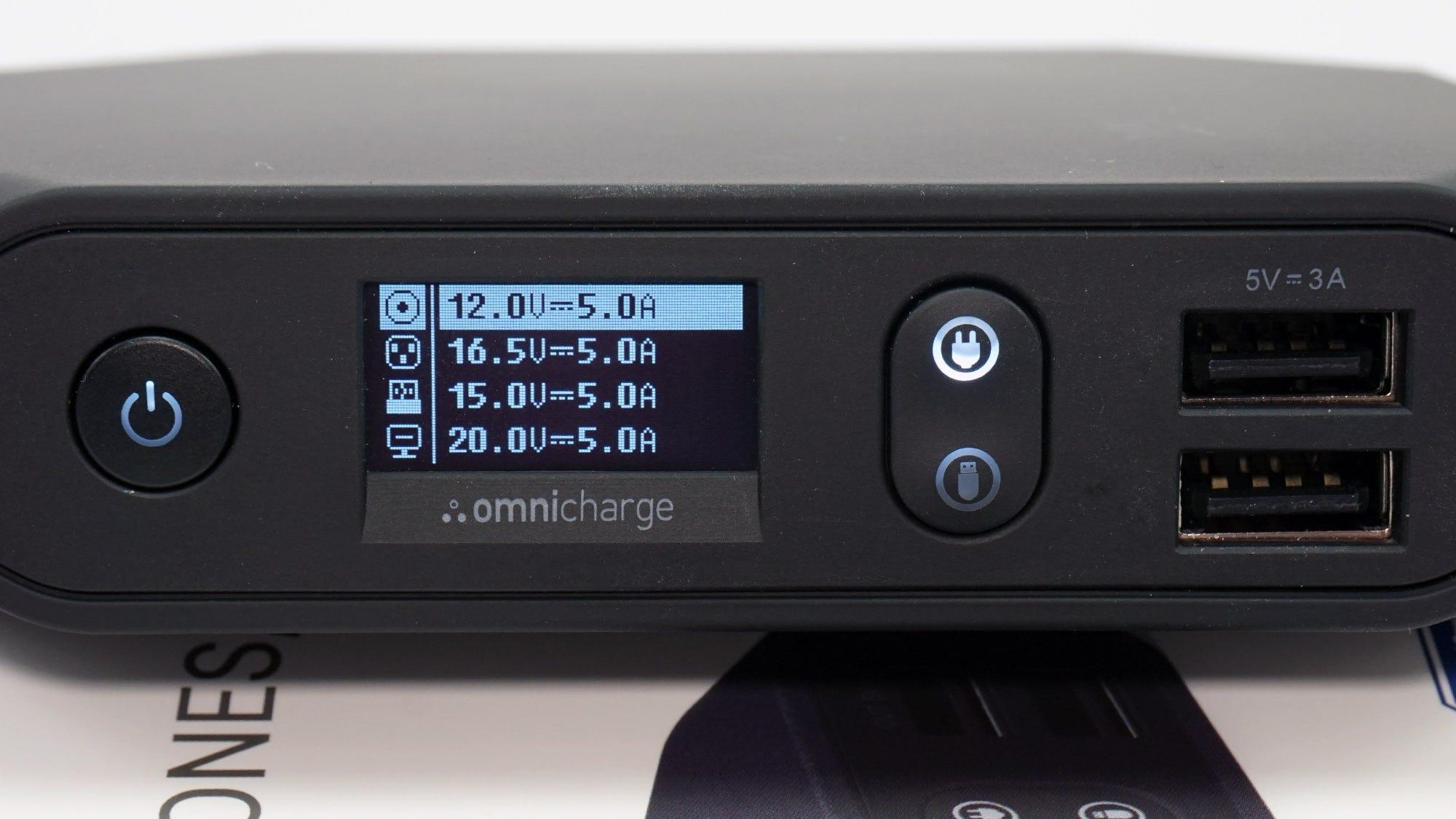 The DC barrel charging port is highly adjustable, handy for enterprise gadgets.