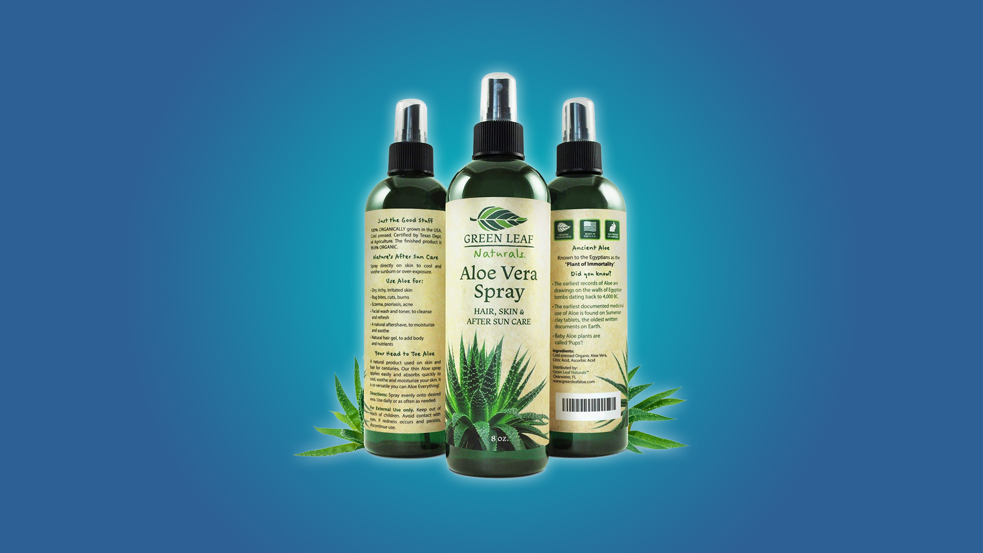 The Green Leaf Aloe Spray