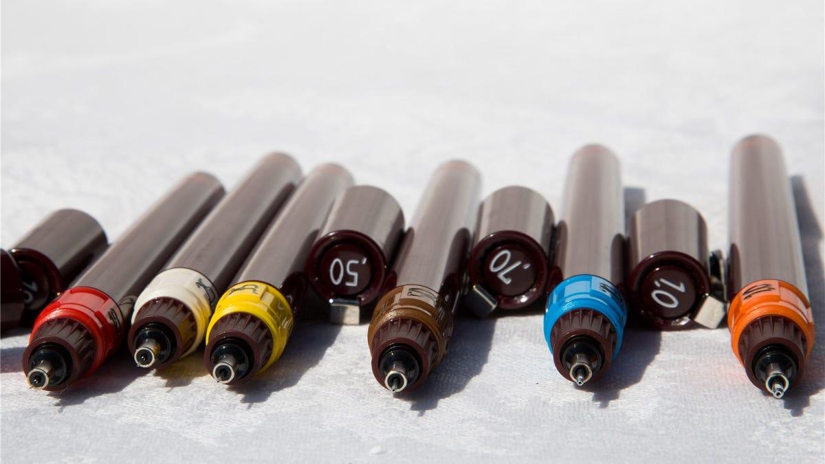 Drafting pens