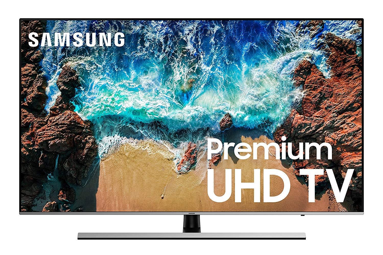 The Samsung 65-inch NU8000 TV.