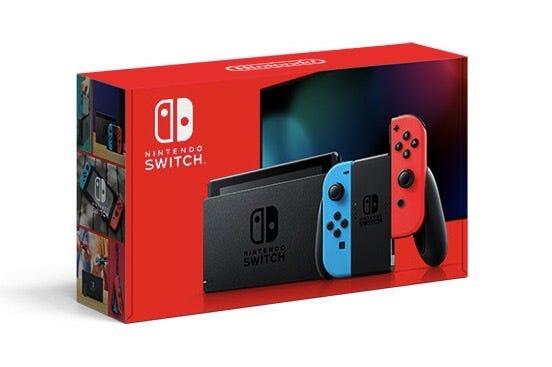 New Nintendo Switch box