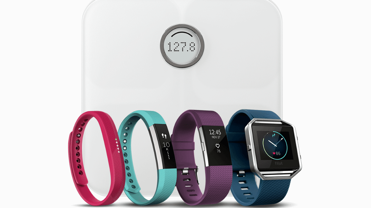Fitbit scale and fitness trackers