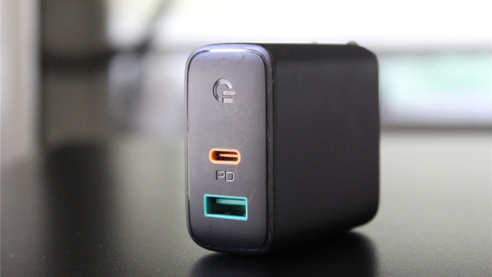 Aukey's 30-watt USB-C PD charger