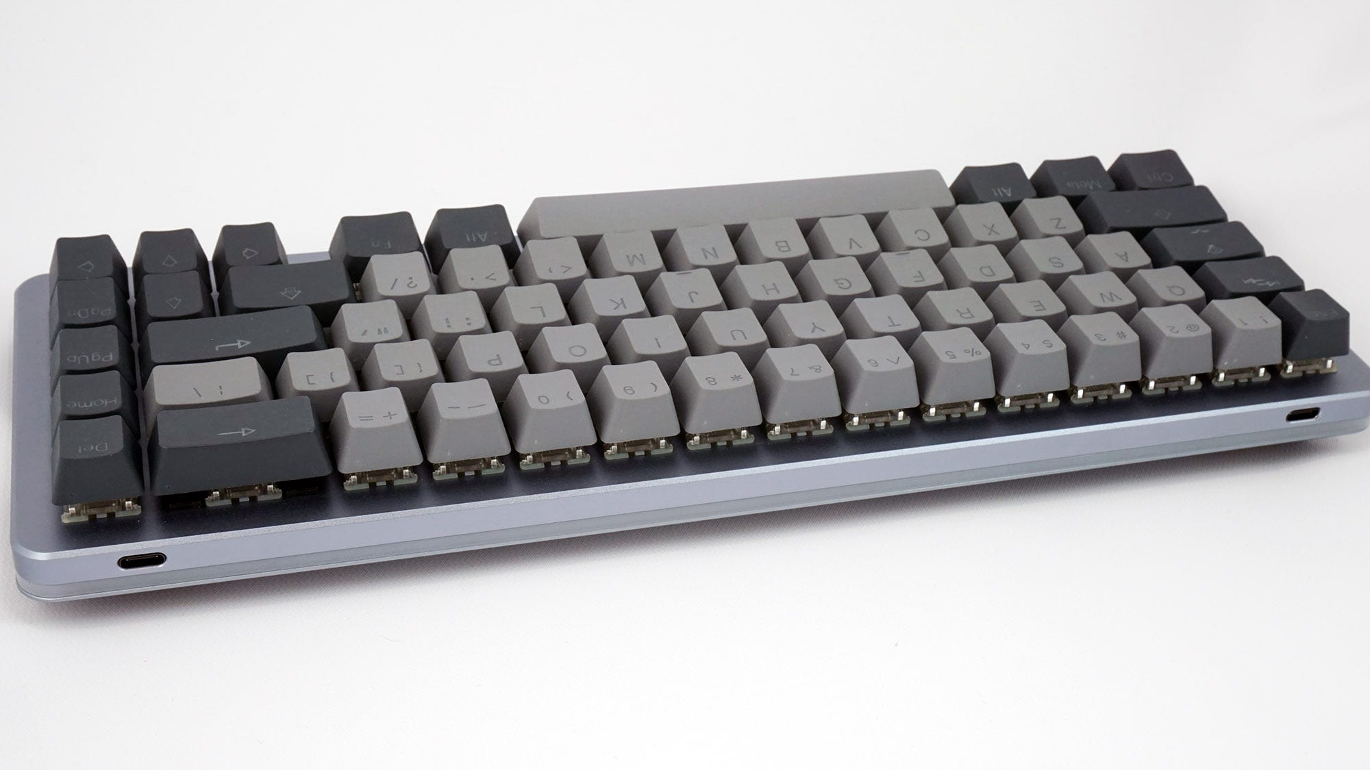 The ALT keyboard (with light strip turned off).