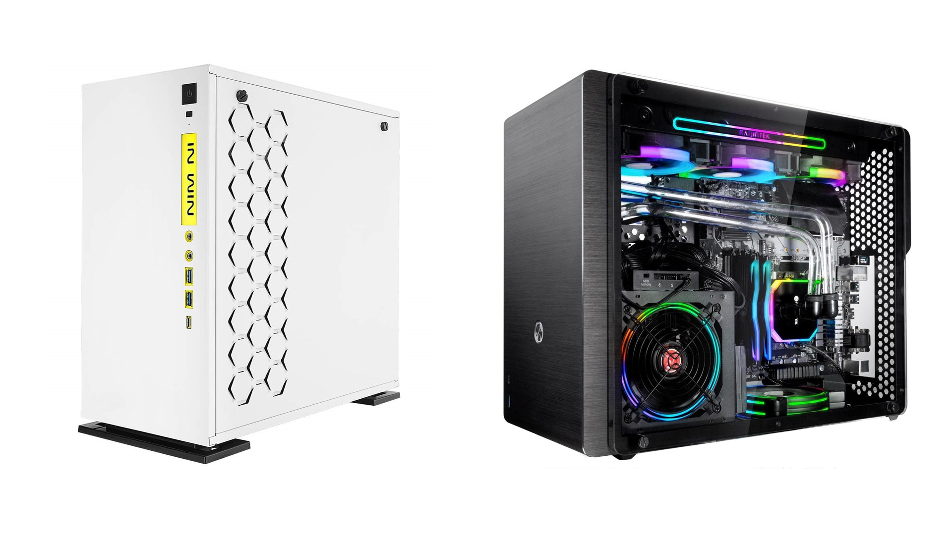 The InWin 301C and the OPHION M EVO ALS
