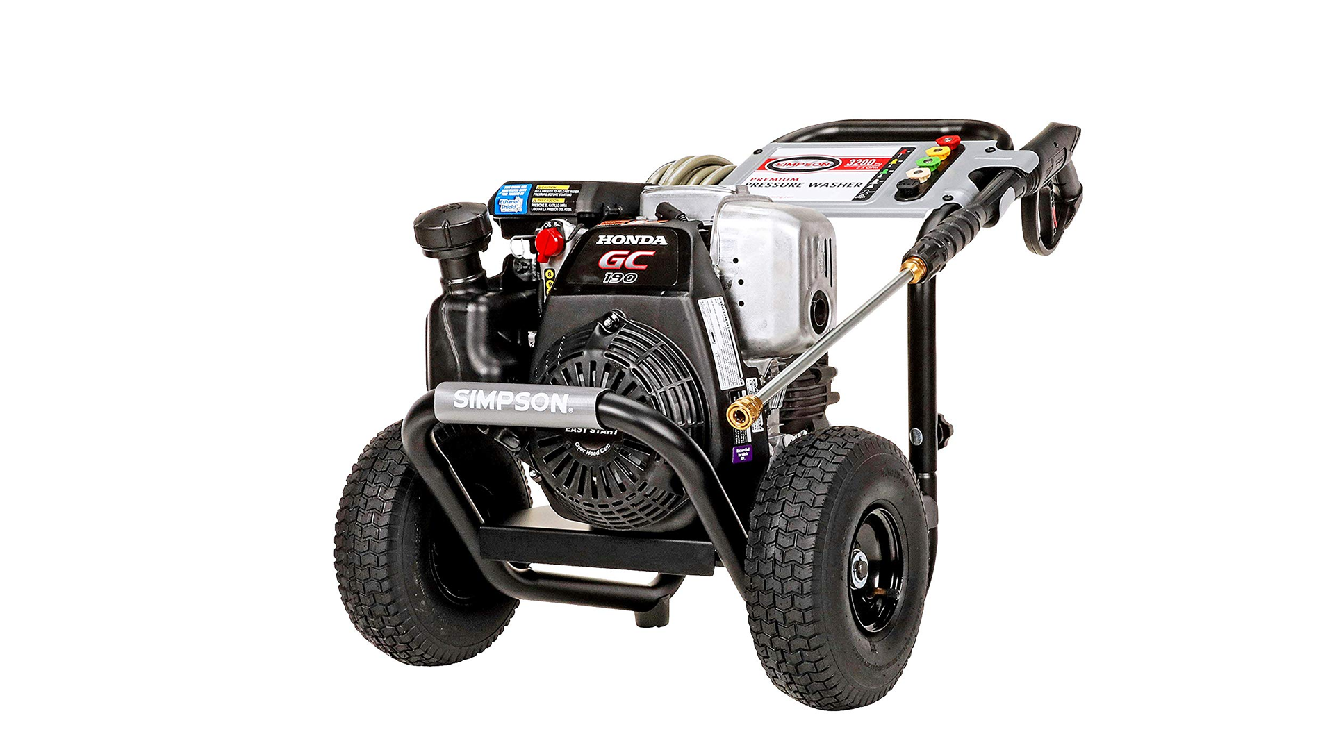 the Simpson MSH3125 Gas Power Washer