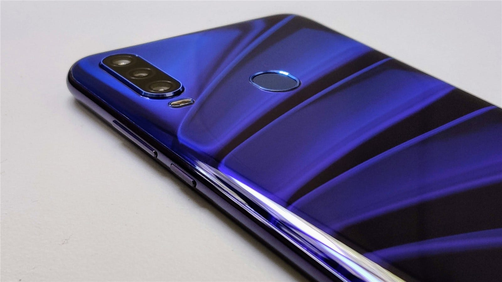 The back of the Blu G9 Pro