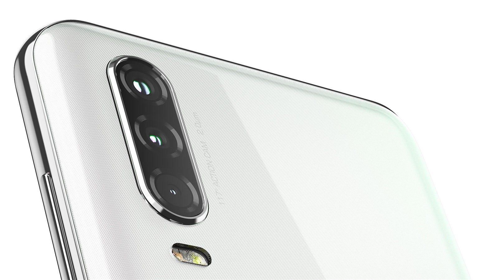 Motorola One Action's triple camera array