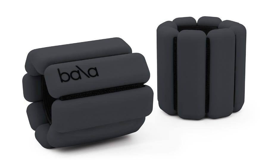 BalaBangles Wearable Ankle and Wrist Weights