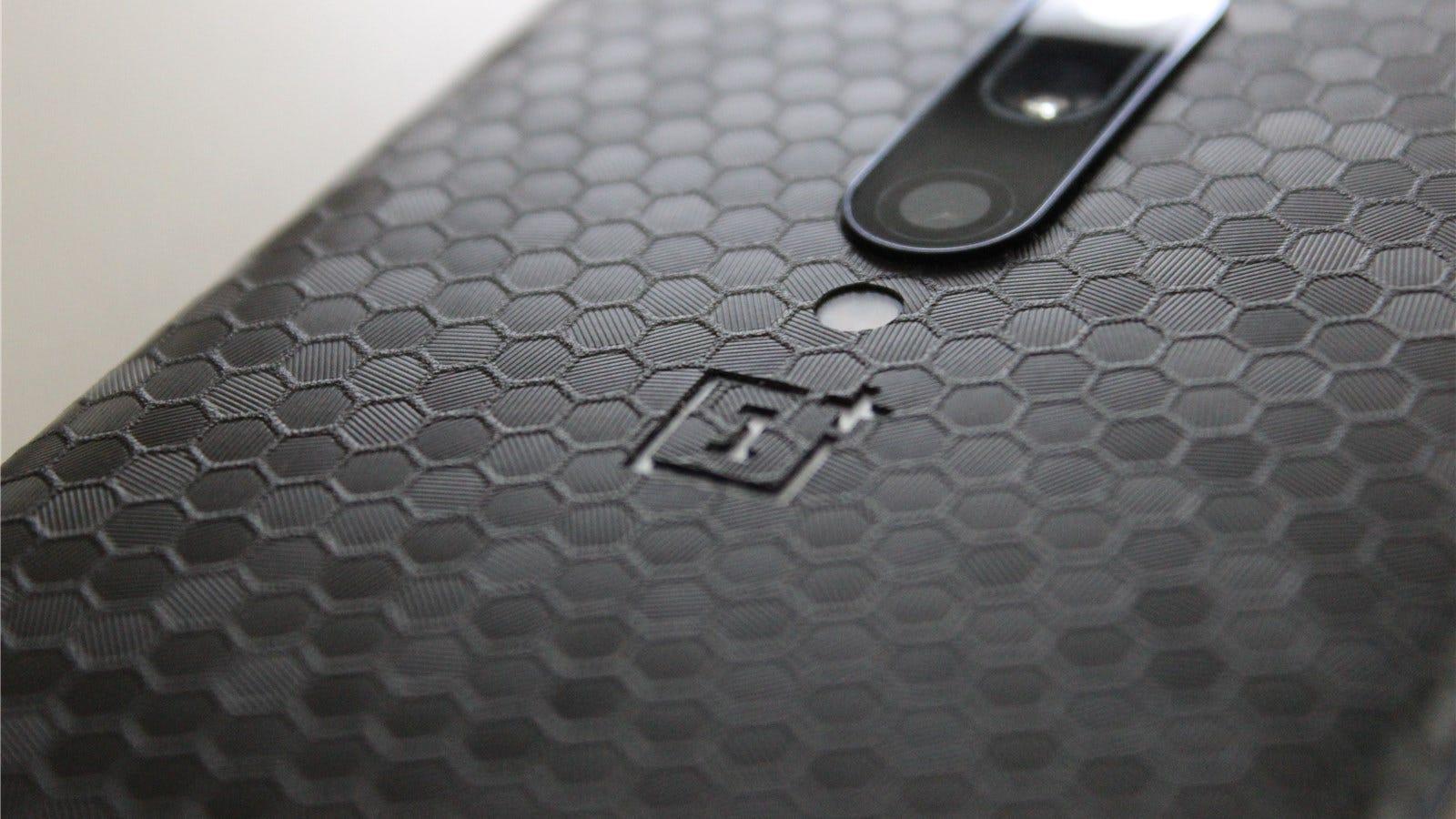 dbrand Swarm skin on the OnePlus 7 Pro