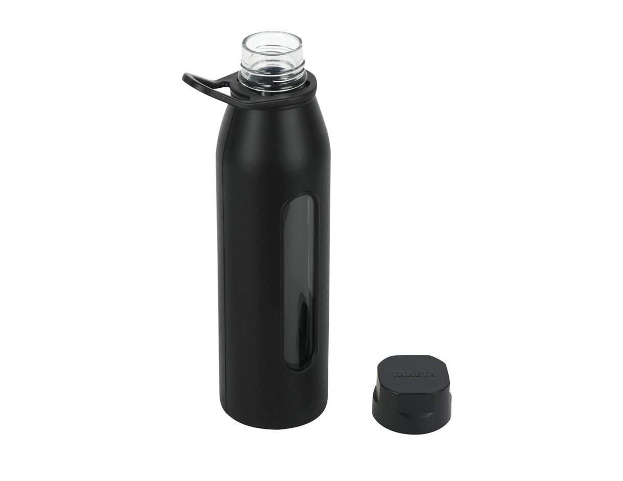 The Takeya Classic glass water bottle