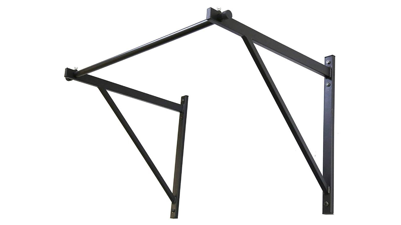 ECOTRIC 50'' Heavy Duty Wall Mounted Pull Up Chin Up Bar