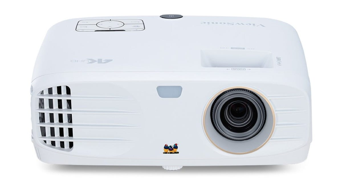 The ViewSonic PX727-4K projector.