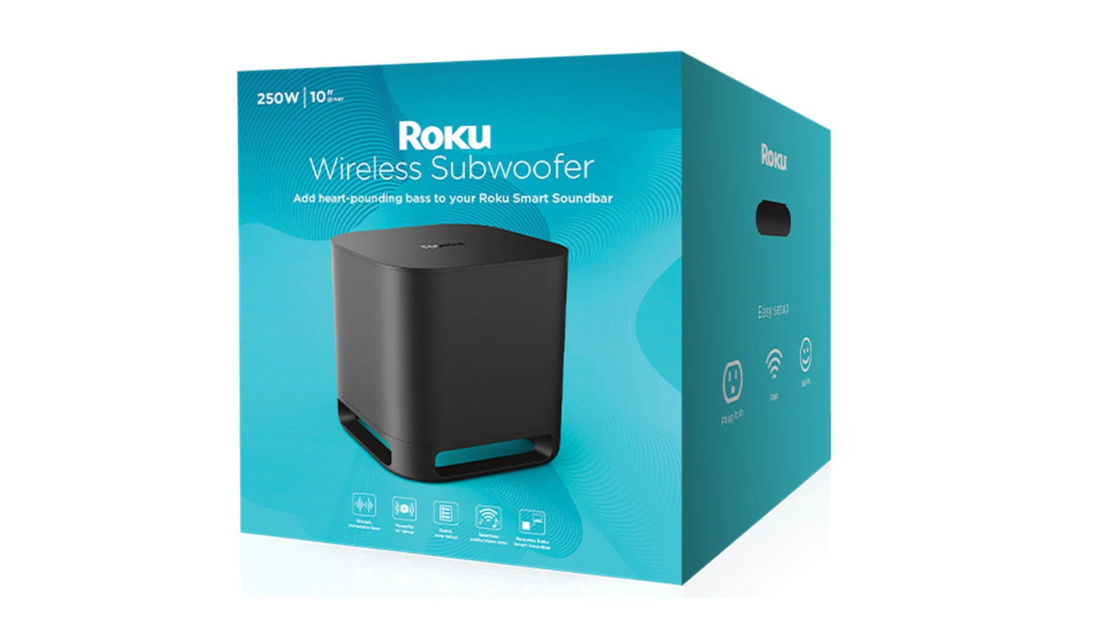 The Roku Wireless Subwoofer box.