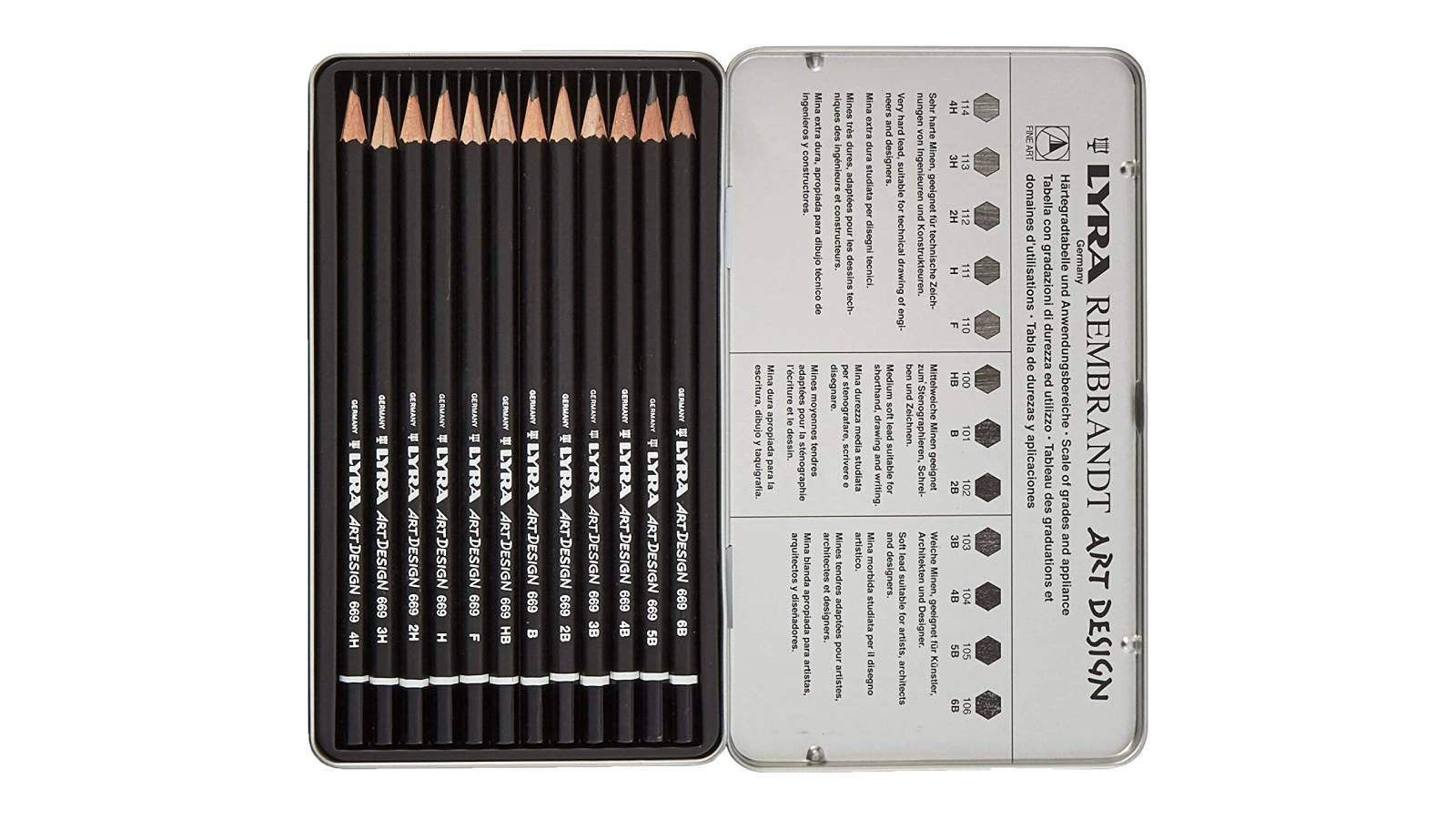 LYRA Rembrandt Art Design Drawing Pencils