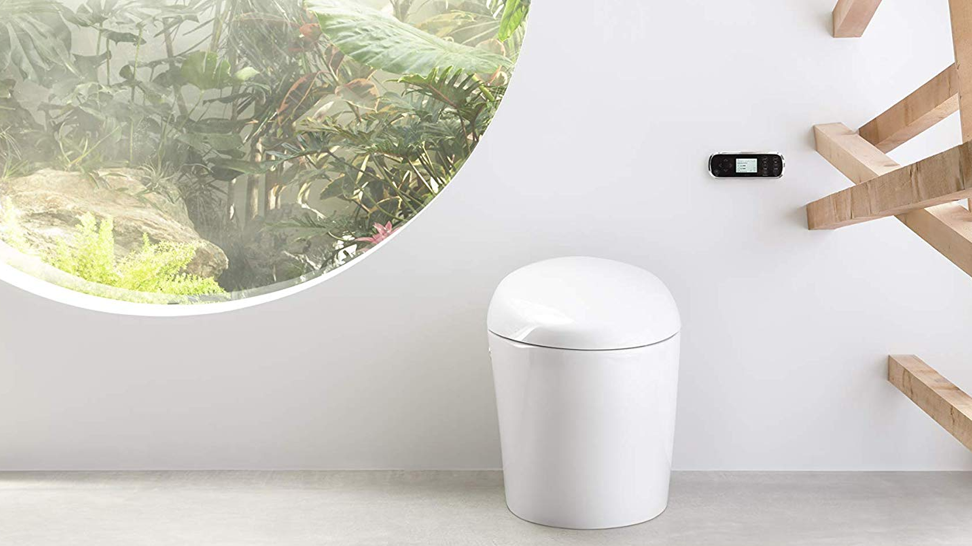 The Kohler smart toilet.