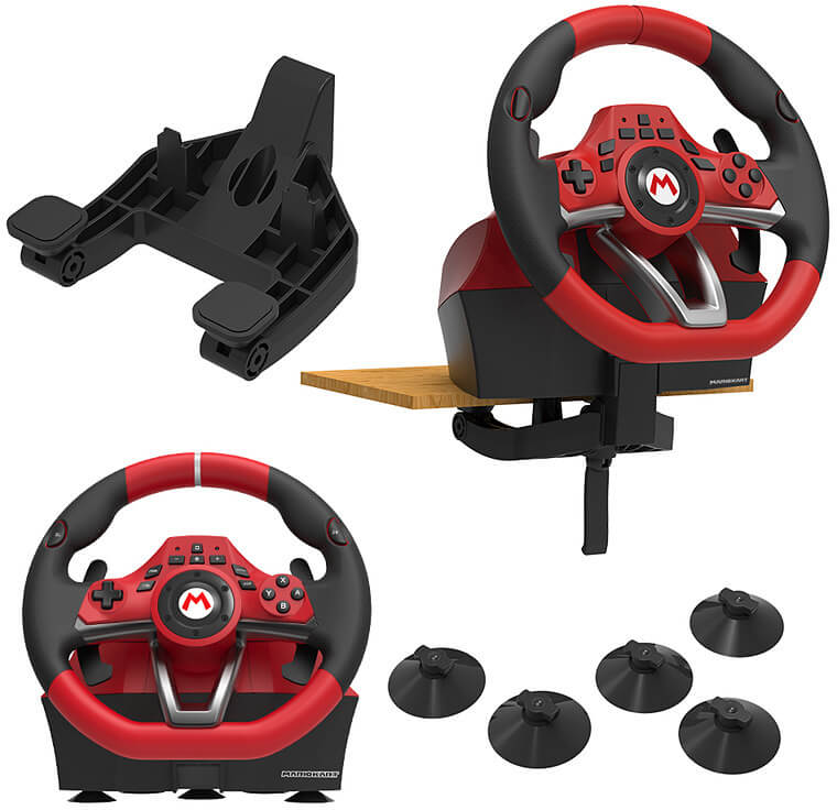 Hori Mario Kart 8 Racing Wheel Deluxe