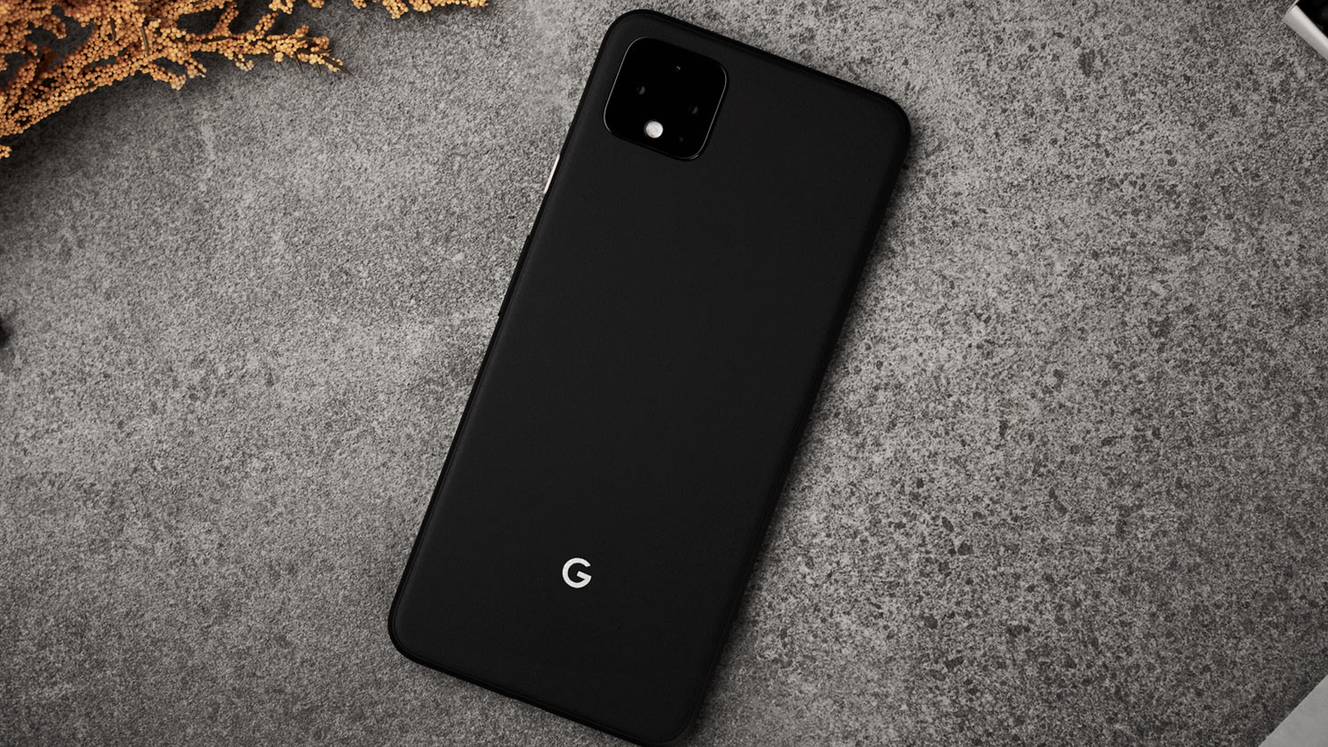 A Pixel 4 in a dbrand case.