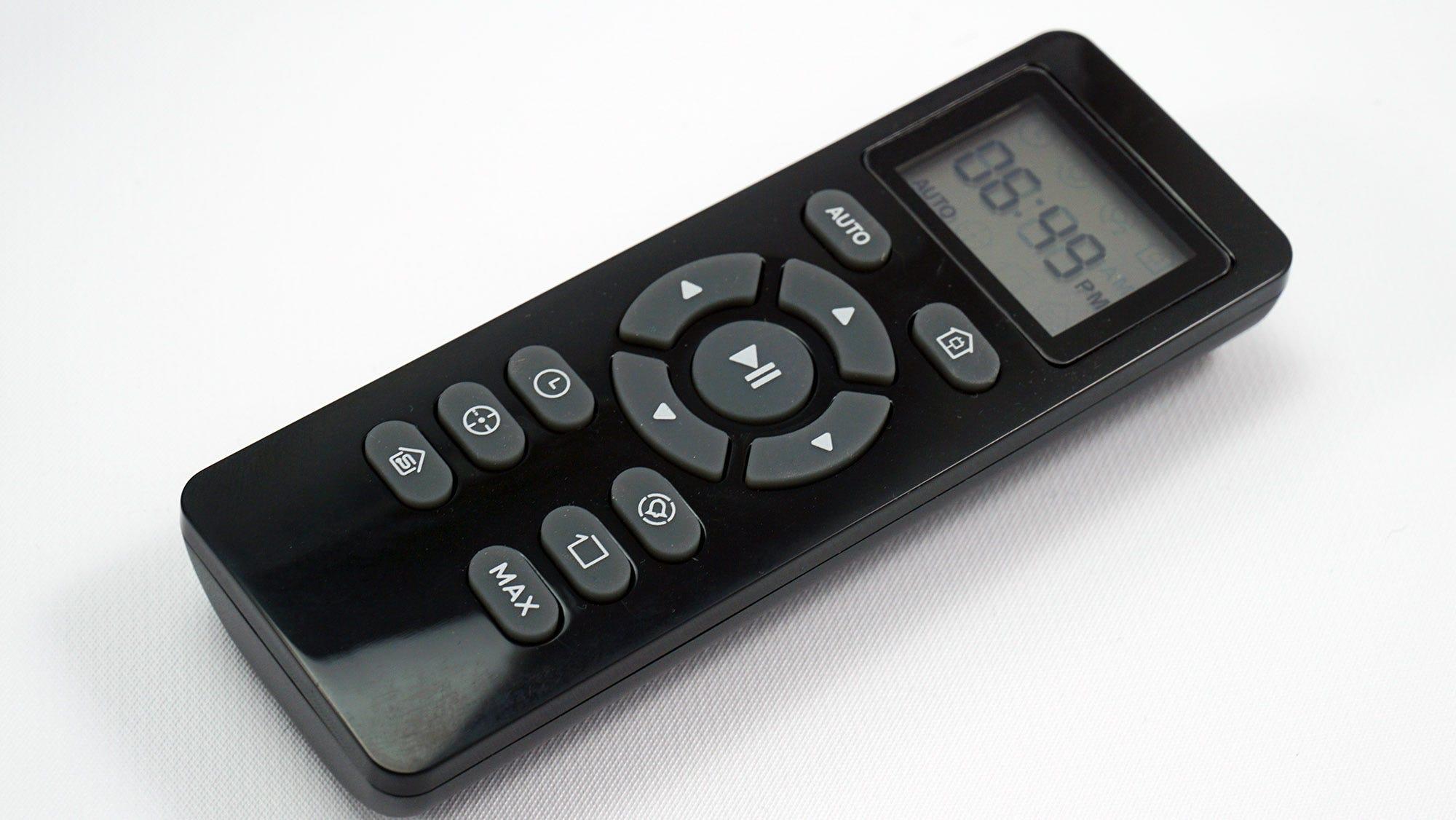 the BG600 remote.